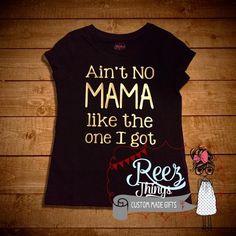 Black tshirt, Funny, kids, childrens, shirt, tops, mothers day, childr – ReezThings