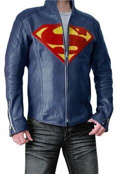 Amazon.com: Super Blue Jacket for Man: Clothing