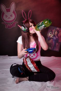 D'Va Gremlin - From the video game Overwatch  Cosplayer Tish Cosplay   MC Illusion Photography