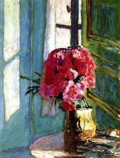 Carnations by Pierre Bonnard