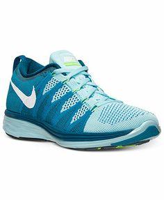 Nike Women's Flyknit Lunar2 Running Sneakers from Finish Line
