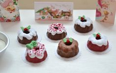 Sweet Petite Mini Christmas Bundt Cake Set by SweetPetiteShoppe