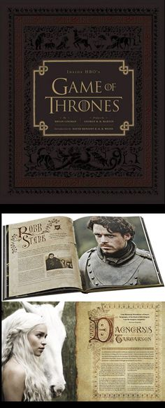 Inside HBOs Game of Thrones Hardcover – Available Now: http://aimcollectibles.blogspot.com/2013/09/inside-hbos-game-of-thrones-hardcover.html