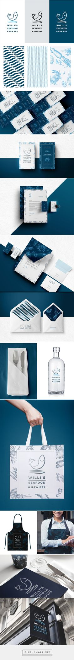 Willi's Seafood & Raw Bar on Behance... - a grouped images picture - Pin Them All