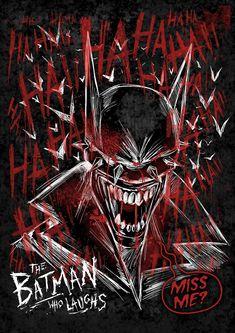 """The Batman who Laughs"" by Manuel J. Iniesta"