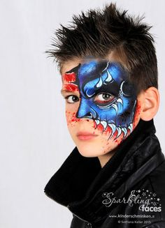 *Fasnacht/ Halloween - Sparkling Faces. Kinderschminken. Farbenverkauf. Kurse.