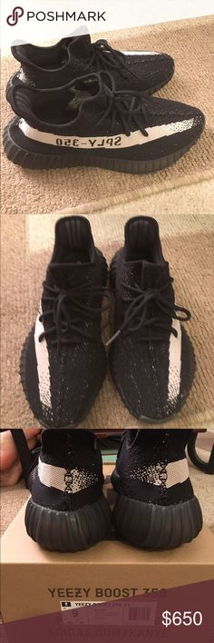 timeless design 00ea1 ac3d9 Yeezy boost 350 V2 White and black. Brand new never worn! With original tags