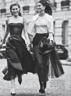 """Lady Dior"" Vogue Australia March 2017"