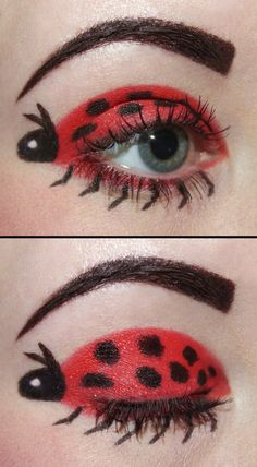 lady bird beetle eyes @Jessica Wakefield-Taylor you gotta try this!!!!