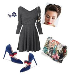 """""""dinner?"""" by lindacorp on Polyvore featuring Christian Louboutin and Gucci"""