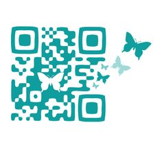 QR code design for Roquefort Papillon