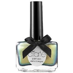 """Ciate Paint Pots Nail Polish in """"oil slick"""" - love this irridescent color"""