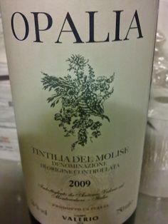 OPALIA TINTILIA DEL MOLISE DOC (2009) - CAMPI VALE...