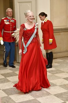 Queen Margrethe of Denmark celebrates her 75th birthday with a gala 4/15/2015