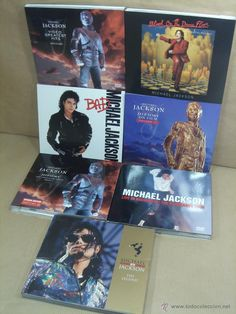 ¡¡¡ OFERTON ¡¡¡ COLECCION 6 CD - DVD - MICHAEL JACKSON - HISTORY-BAD-HITS…