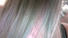 My Bleach London violet skies, rose, blullini, washed up mermaid, awkward peach and sea punk pastel kawaii rainbow dip-dyed hair! www.harajukuboutique.co.uk www.twitter.com/harajukuboutiqu