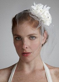 Double Flower Tulle Fascinator