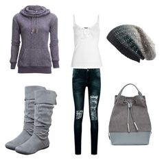 """""""Comfortable Cutie"""" by ashleyfloyd on Polyvore featuring tentree, Boohoo, Opening Ceremony and Michael Stars"""