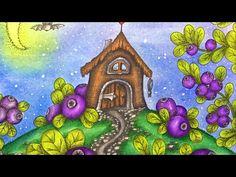 MAGICAL DELIGHTS by Klara Markova - prismacolor pencils - YouTube