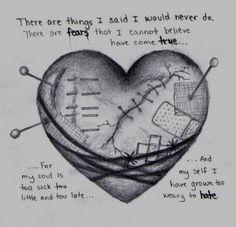 Emo Broken Heart Drawings <b>emo</b> on pinterest  <b>heart drawings</b>, <b>emo</b> love quotes and <b>broken</b> <b></b>