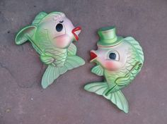 SO excited about my new fish! My Grandma had these in her bathroom, now I am going to have them in mine! Yippee.