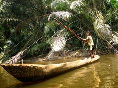 Boy on Congo River