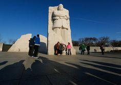 MLK Memorial, Washington DC - 012113
