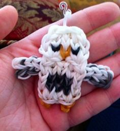 rainbow loom owl