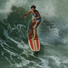 Girl Gone Surfing by Hemingway Design | buy as fine art print at INSPiKED