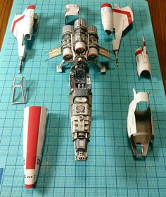 Japanese craftsman creates perfect sci-fi ship replicas using just paper