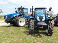 New Holland  T9450 & T7270
