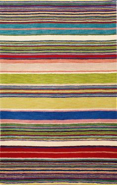 Shop for Liora Manne Hand-tufted Inca Stripes Red/ Multi Wool Rug x - x Get free delivery On EVERYTHING* Overstock - Your Online Home Decor Store! Floral Area Rugs, Beige Area Rugs, Textiles, Striped Rug, Hand Tufted Rugs, Indoor Rugs, Yellow Stripes, Geometric Designs, Throw Rugs