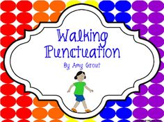 """FREE LANGUAGE ARTS LESSON - """"Walking Punctuation"""" - Go to The Best of Teacher Entrepreneurs for this and hundreds of free lessons.  1st - 5th Grade  #FreeLesson  #LanguageArts    http://www.thebestofteacherentrepreneurs.net/2013/03/free-language-arts-lesson-walking.html"""