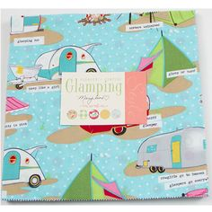 Fabric Depot ~ Glamping Layer Cake by Moda