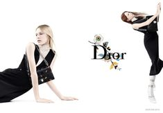 Dior | SS 2015 Ad Campaign | Julia Nobis, Lexi Boling and Natalie Westling