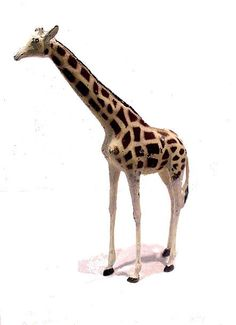 1920s Britains #961 Lead Zoo Young Giraffe by MooncatAntiques on Etsy