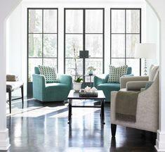 Pintar las orillas de las ventanas en negro u otro color que resalte del blanco... like!