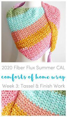 2020 Fiber Flux Summer CAL, Week 3: Comforts of Home Wrap
