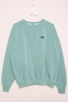 Brandy ♥ Melville | Erica CA Bear Embroidery Sweatshirt - Embroidery - Graphics