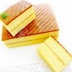 Traditional Pillow Sponge Cake