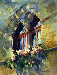 Linda Griffin: Watercolorist – Architectural Gallery