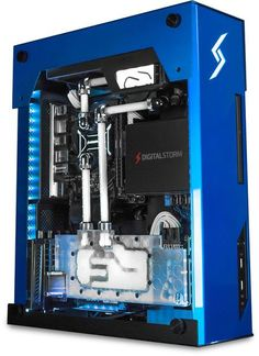 Nice blue rig with almost a gun metal effect. #rigs