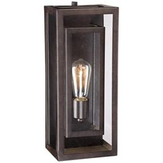 "Possini Euro Double Box 15 1/2""-H Bronze Outdoor Light - #3X096   LampsPlus.com"
