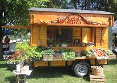 The Reedsburg Fermentation Fest features 39 artist-built mobile farm stands, including this one created by Home Daehn, a woodcarver and sculptor from Baraboo.
