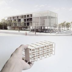 Architectural Design Art – All about Architectural Design Social Housing Architecture, Cultural Architecture, Interior Architecture, Mix Use Building, Building Design, Urban Design Concept, Architecture Concept Drawings, Arch Model, Modern Buildings