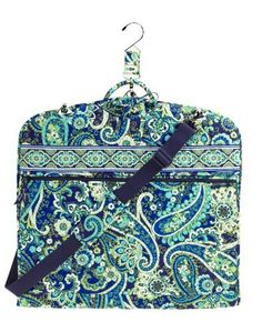 "Looking for great deals on ""Luggage Vera Bradley Garment Bag Rhythm Blues""? Compare prices from the top online luggage retailers. Save money when buying suitcases and luggage for your travelling. Vera Bradley Garment Bag, Vera Bradley Travel Bag, Vera Bradley Backpack, Garmet Bag, Suit Carrier, Pack Your Bags, Rhythm And Blues, Cloth Bags, Feminine Style"