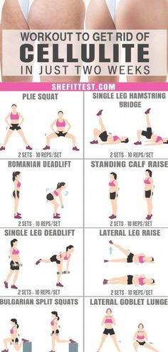 This cellulite exercises are just amazing to get perfectly toned legs. Glad to h… This cellulite exercises are just amazing to get perfectly toned legs. Glad to have found this workout to get rid of cellulite. Definitely pinning for later! Thigh Cellulite, Causes Of Cellulite, Cellulite Exercises, Cellulite Cream, Cellulite Remedies, Reduce Cellulite, Cellulite Workout, Cellulite Get Rid Of, Fitness Workouts