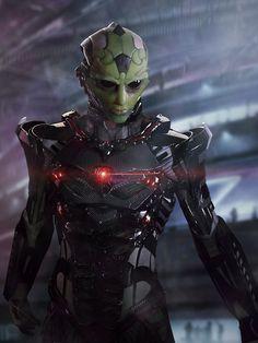 Thane from Mass Effect (i find him more than a little badass)