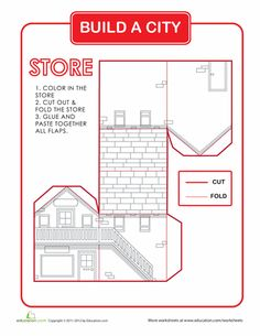 Worksheets: Build a City: Store