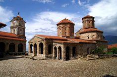 Sveti Naum monastery , Ohrid Lake, Macedonia